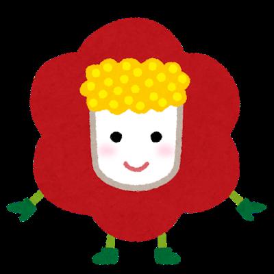 椿のキャラクター(冬)